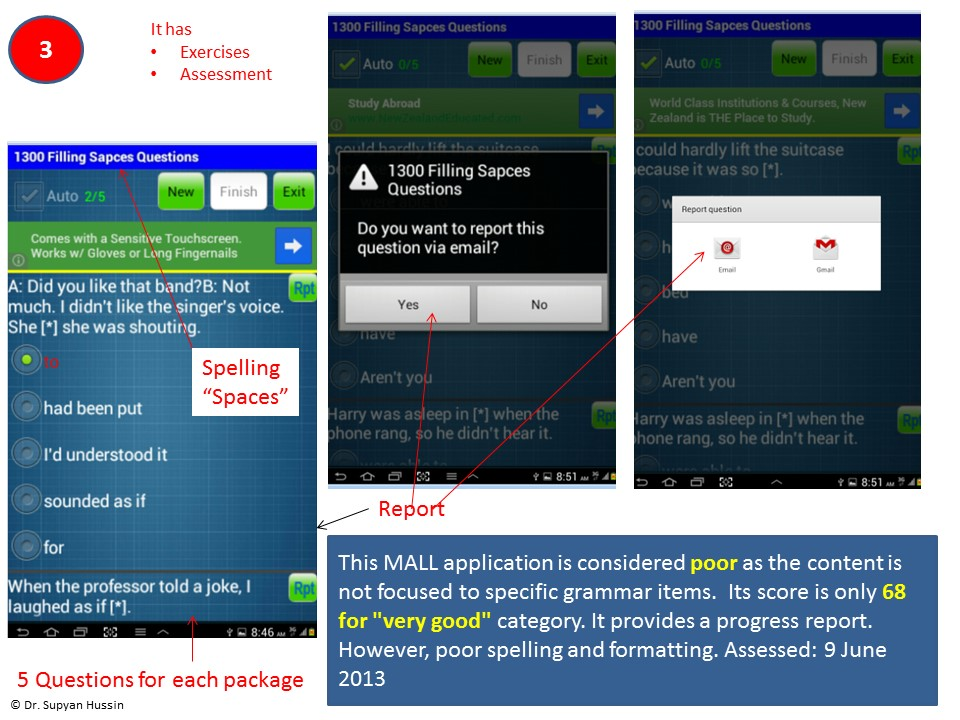 mobile assisted language learning a literature review