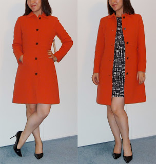 j crew double cloth lady day coat thinsulate review