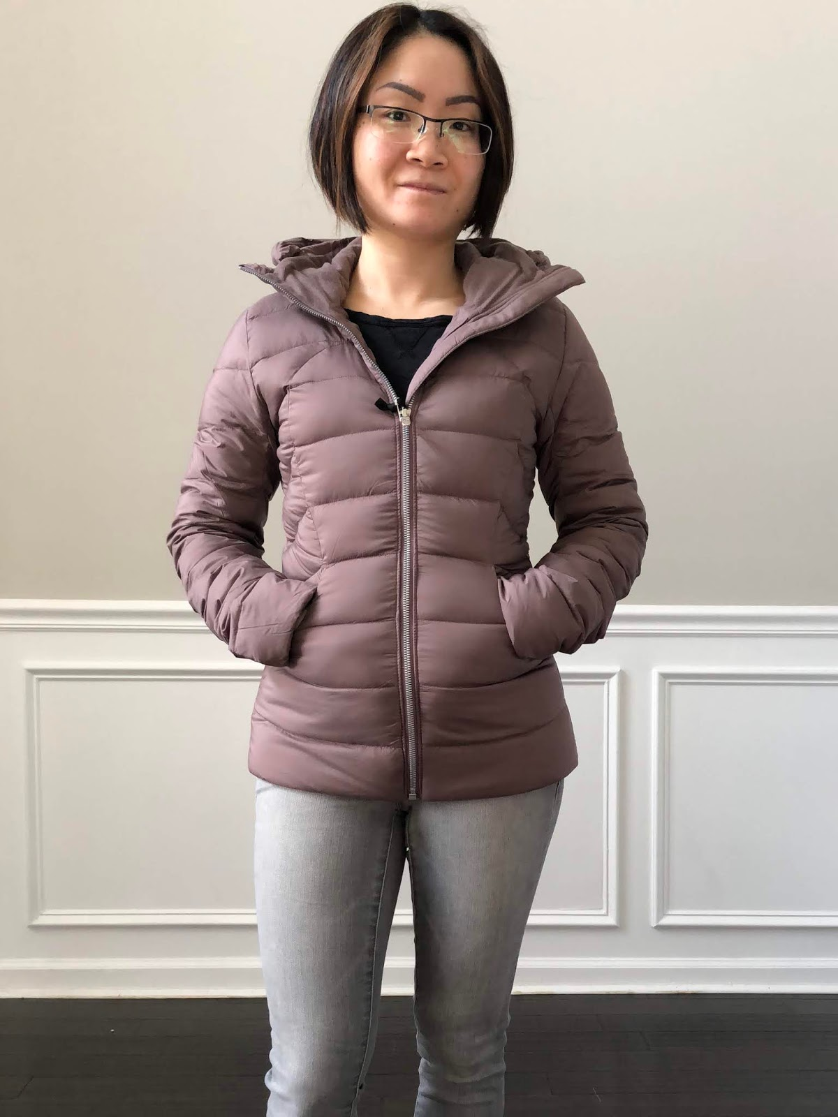 lululemon down for it jacket review