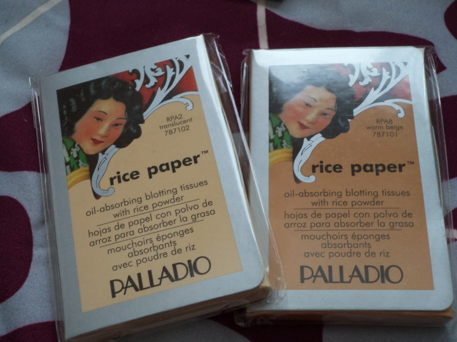 palladio oil absorbing rice powder review