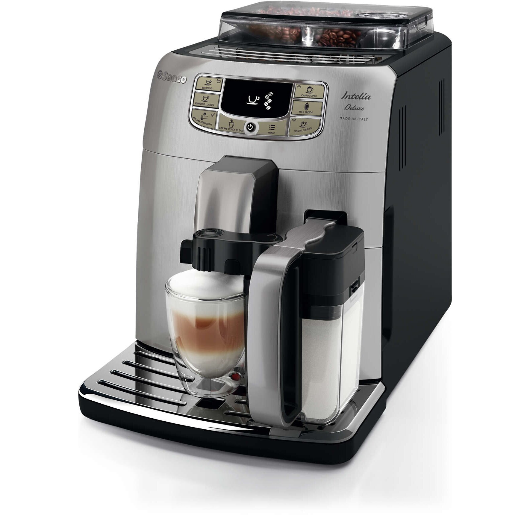 saeco automatic coffee machine review