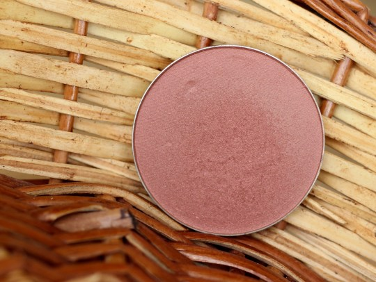mac sweet as cocoa blush review