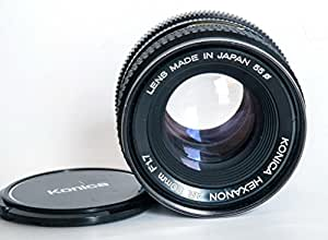 konica hexanon ar 50mm f1 7 review