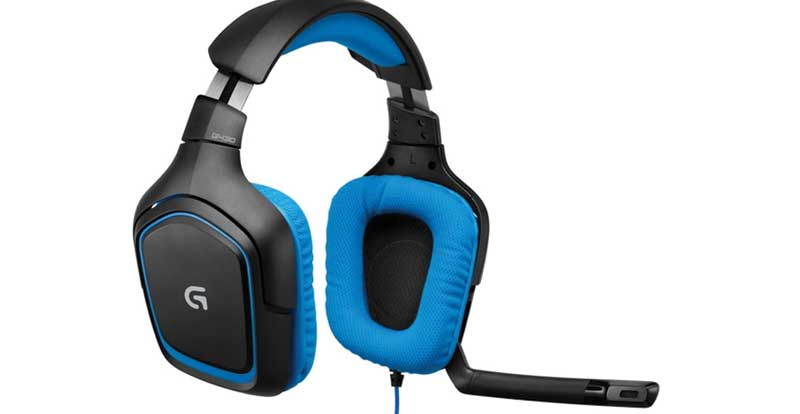 logitech g430 surround gaming headset review