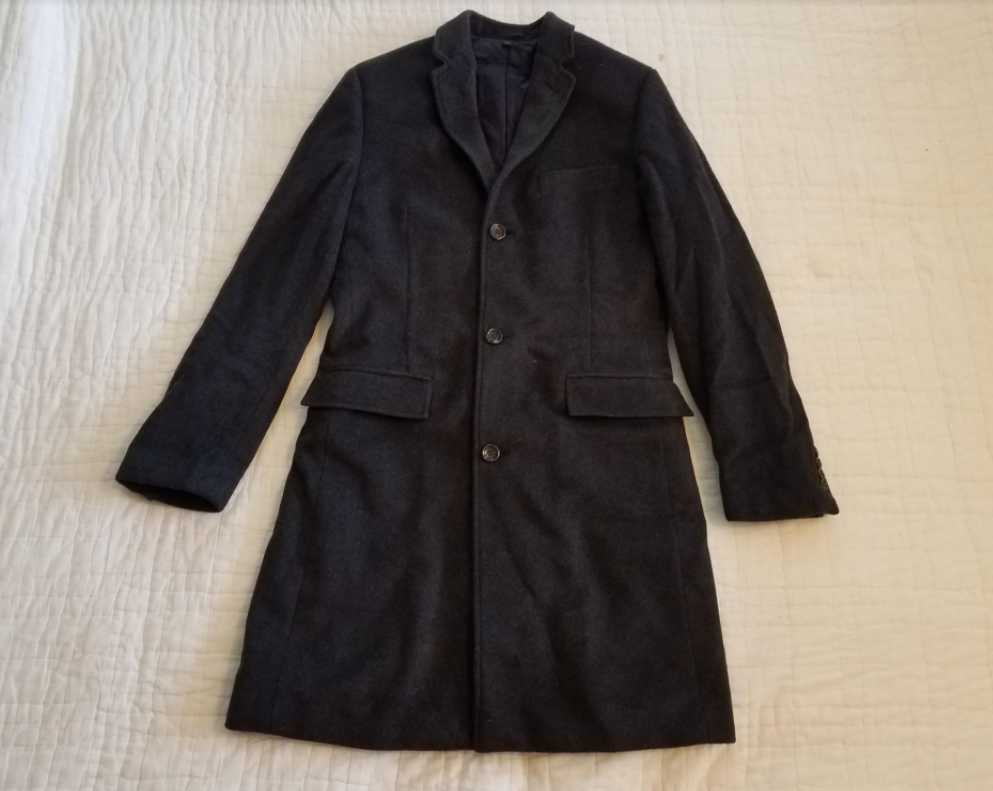 ludlow topcoat in italian wool cashmere review