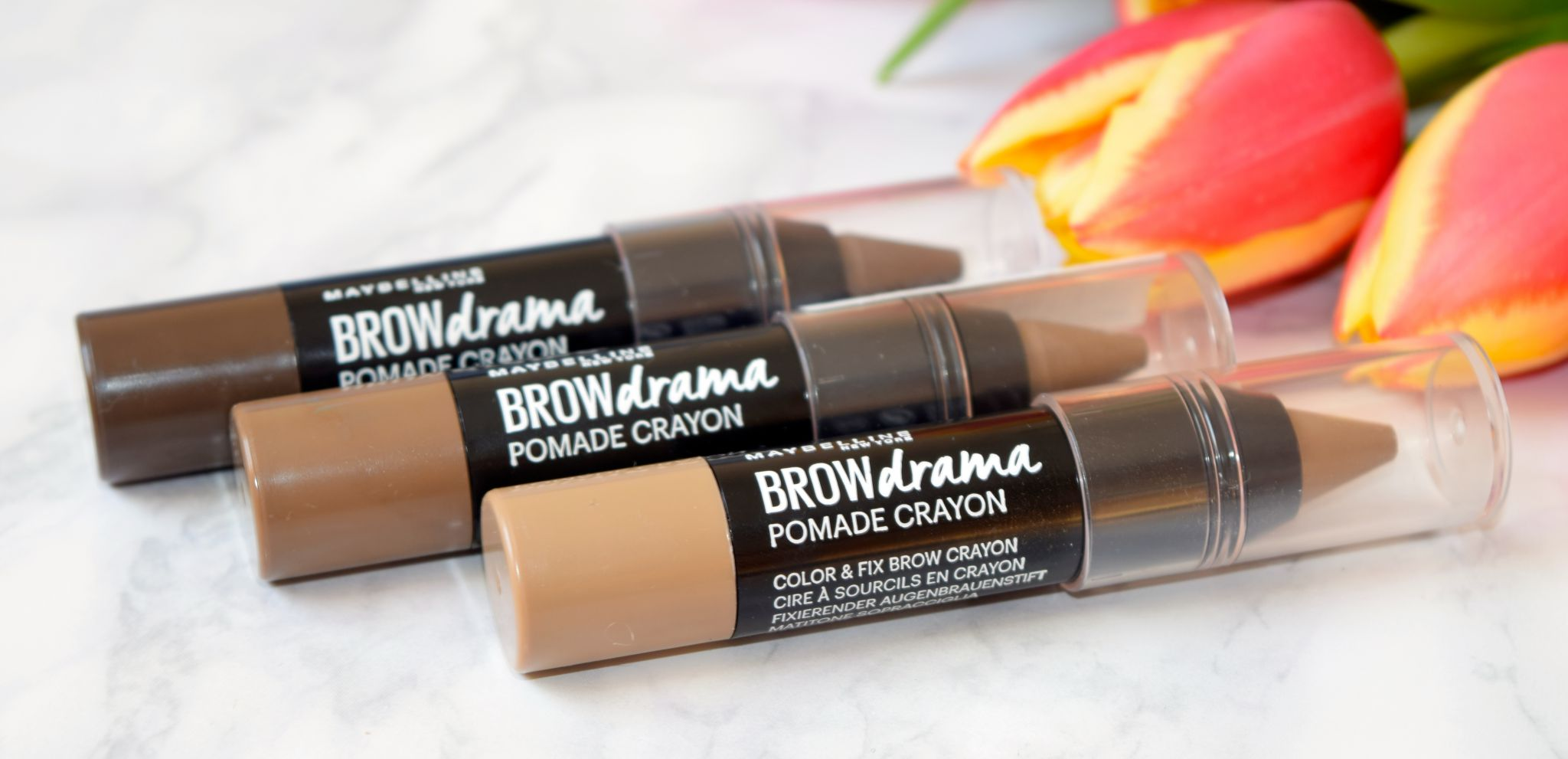 maybelline brow drama crayon review