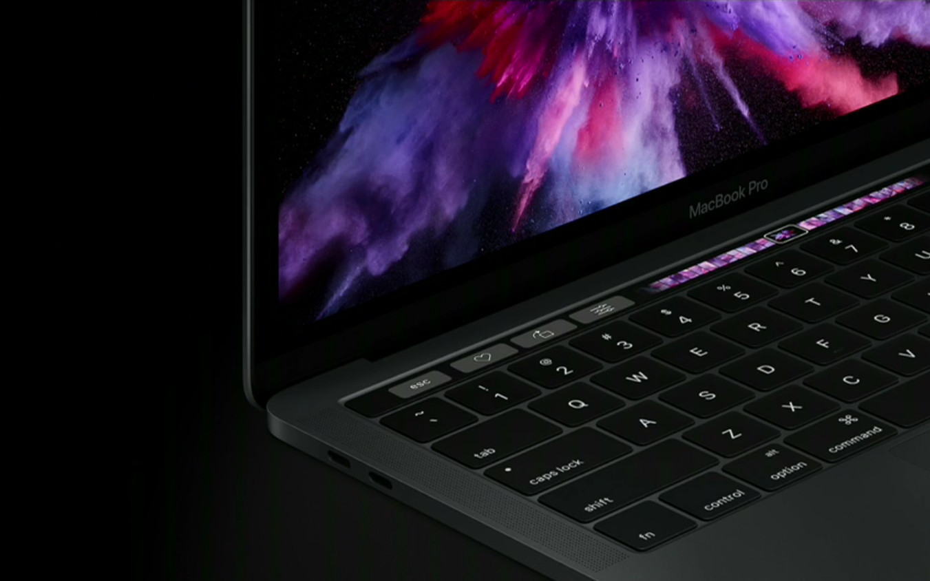 new macbook touch bar review