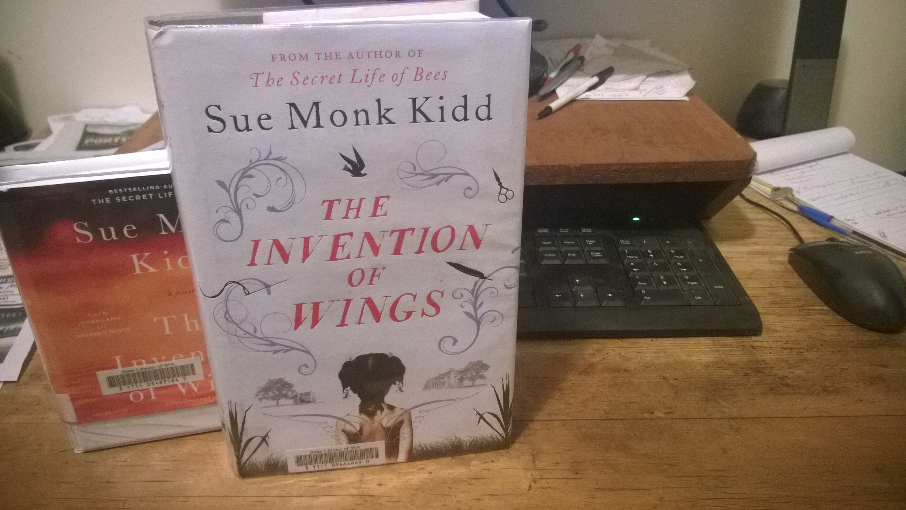 sue monk kidd invention of wings review