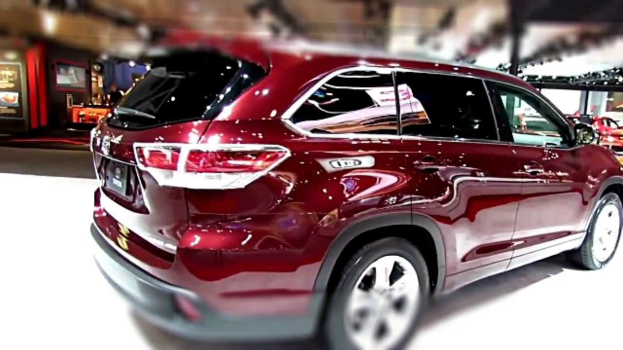 toyota highlander limited review 2017